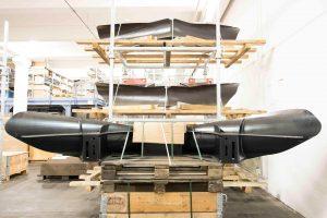 Ersatzteile und Komponenten für Lokomotiven & Züge - Lagerraum