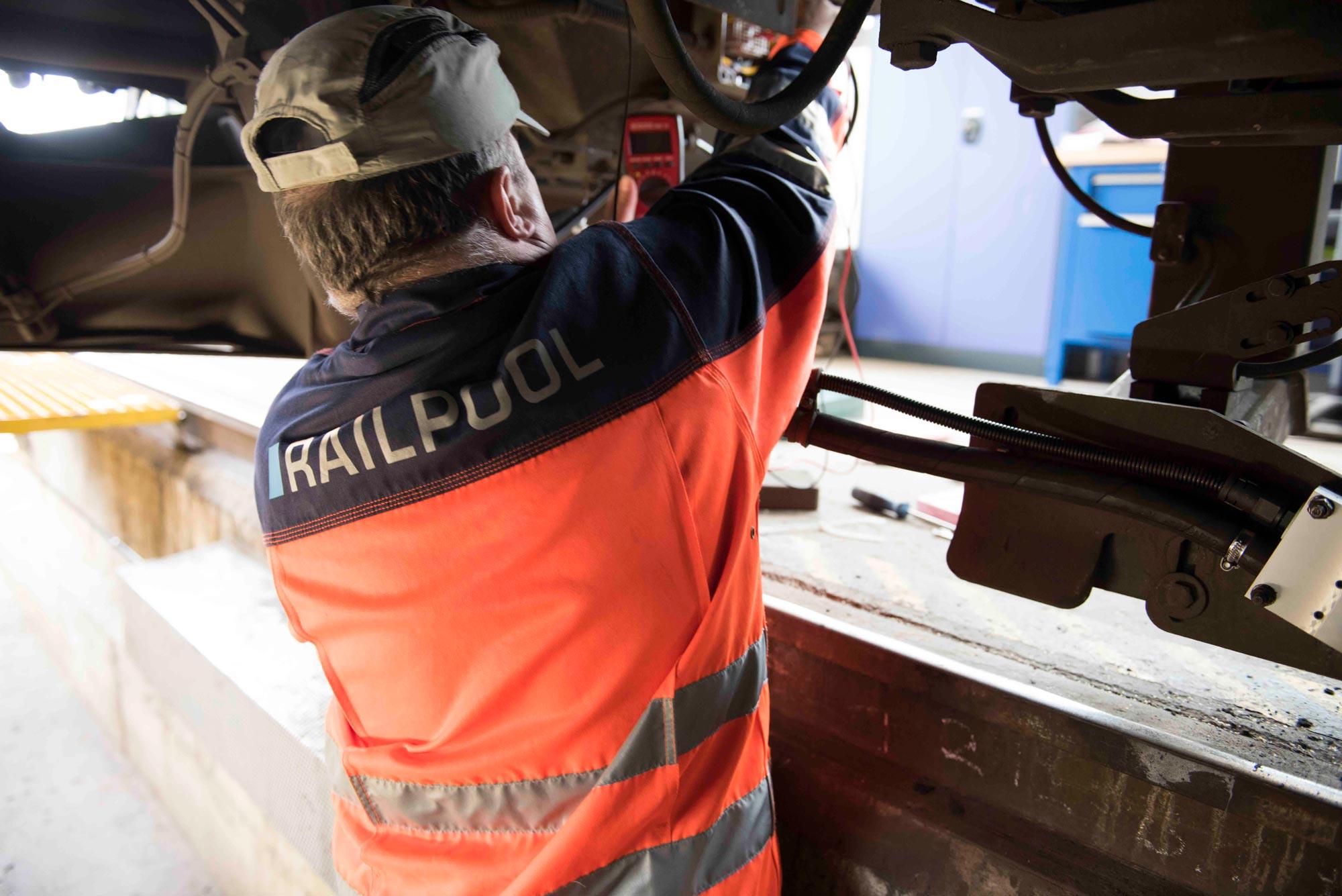 RAILPOOL Werkstatt für Züge