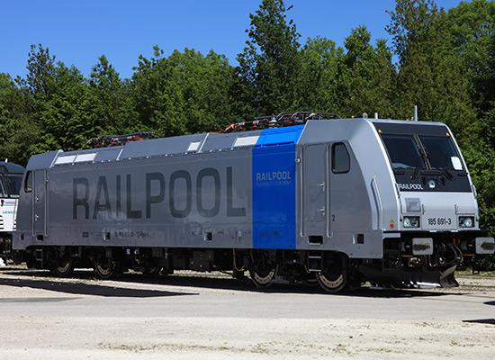 Bombardier TRAXX RAILPOOL F140 AC1