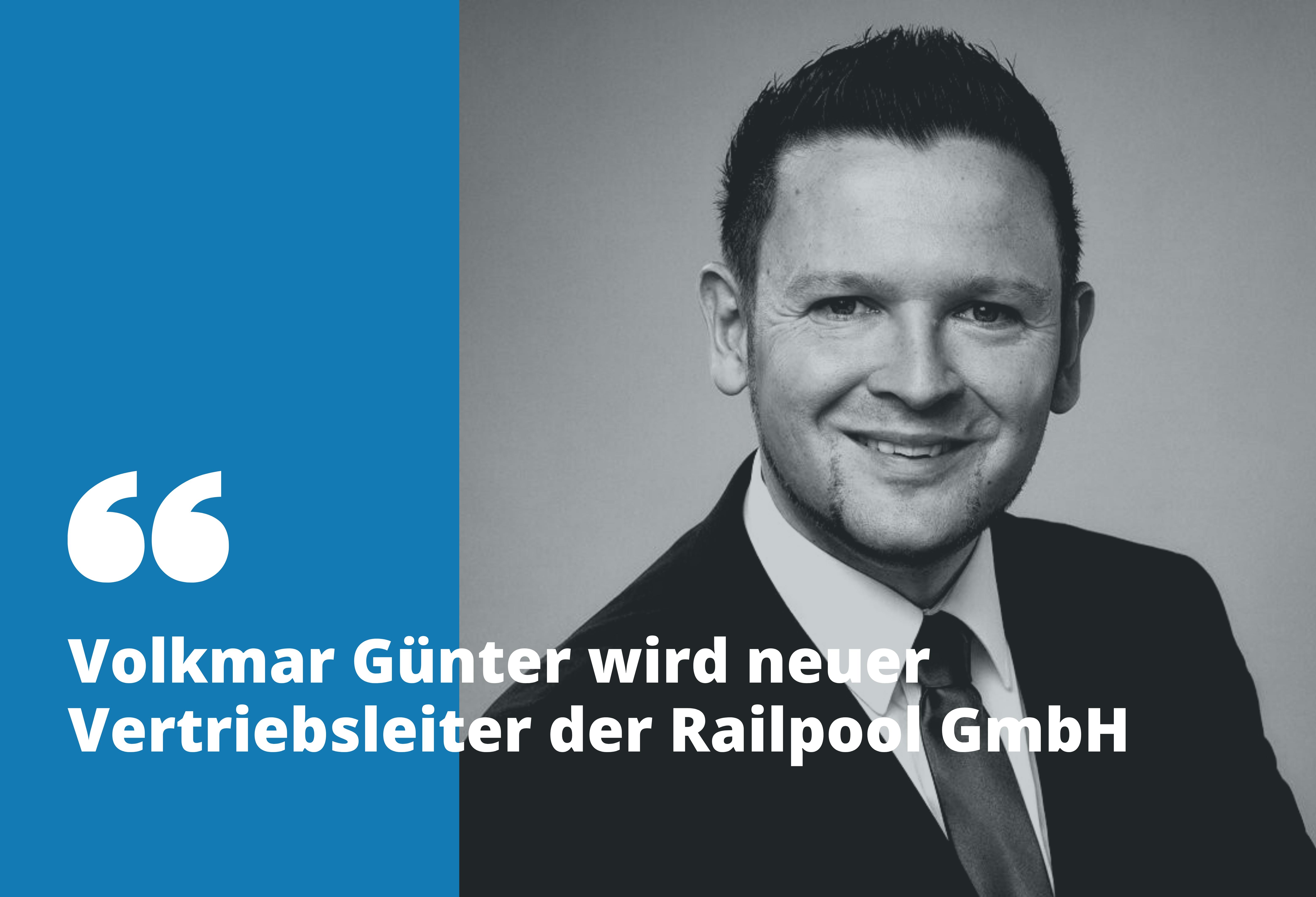 Volkmar Günter - Vertriebsleiter der RAILPOOL GmbH (LinkedIn)