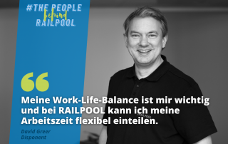 The people behind RAILPOOL - David Greet - Interview