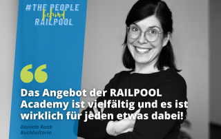 The people behind RAILPOOL - Daniela Raab - Interview