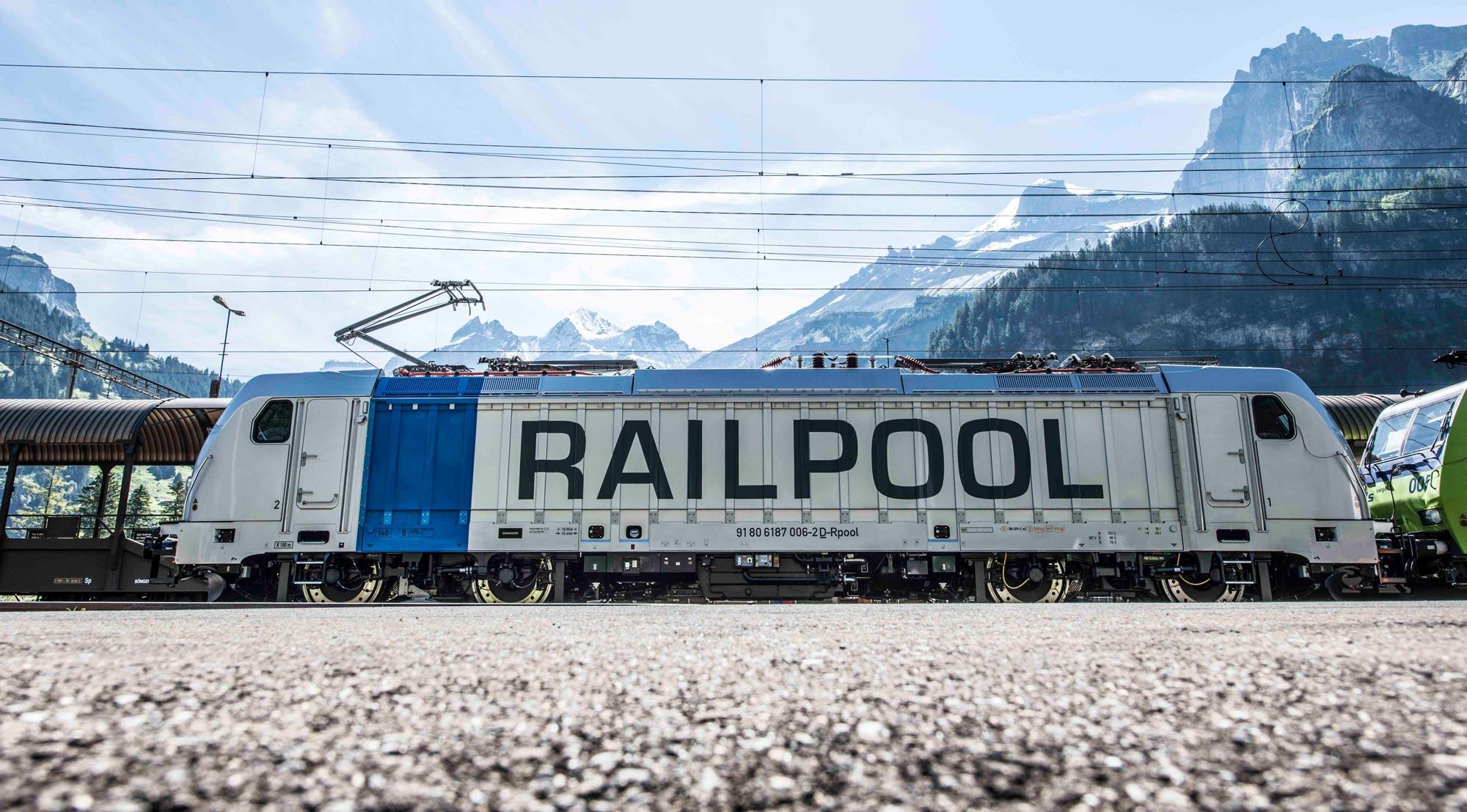 RAILPOOL Lokomotive
