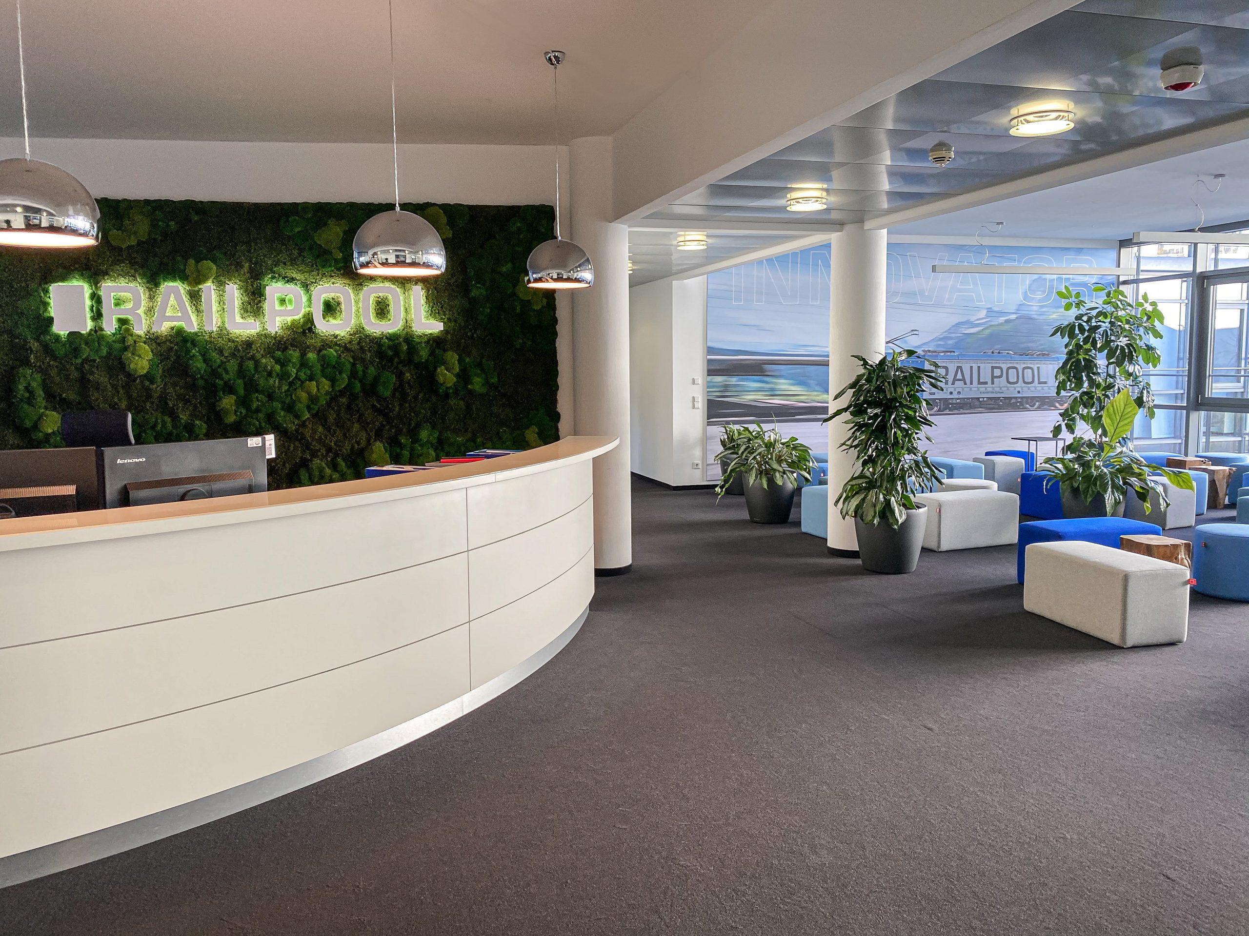 Railpool Office Bilder - Anmeldung